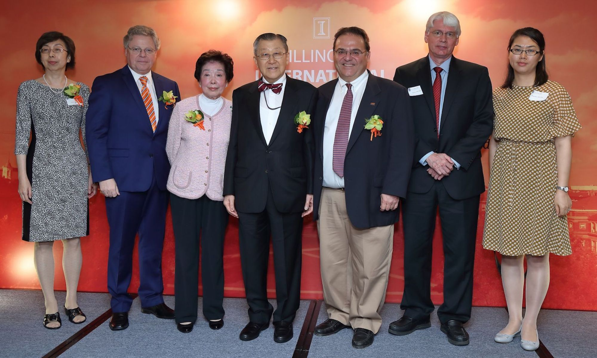 Dr. Yeh Presented with International Alumni Award for Exceptional Achievement